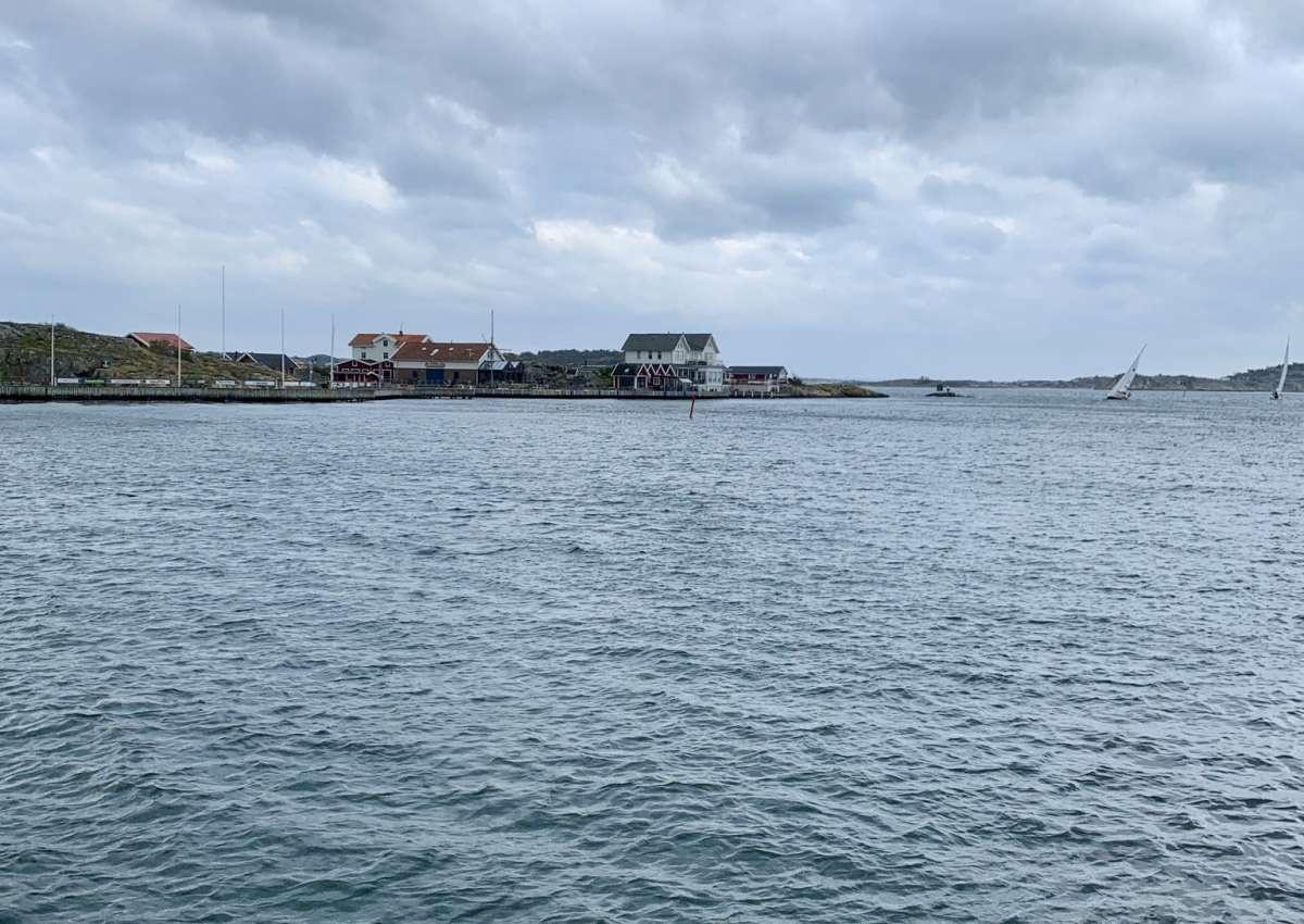 Framnäs - Hafen bei Björkö