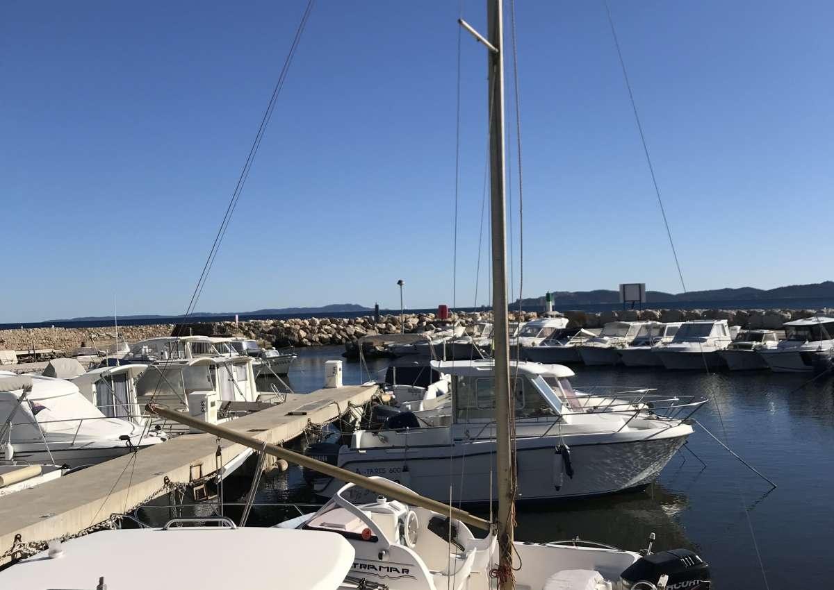 Port de la Capte - Hafen bei Hyères (La Capte)