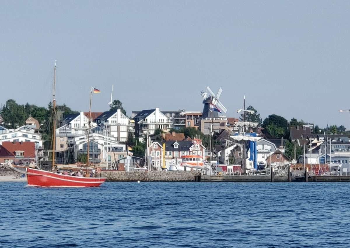 Laboe Yachthafen - Hafen bei Laboe