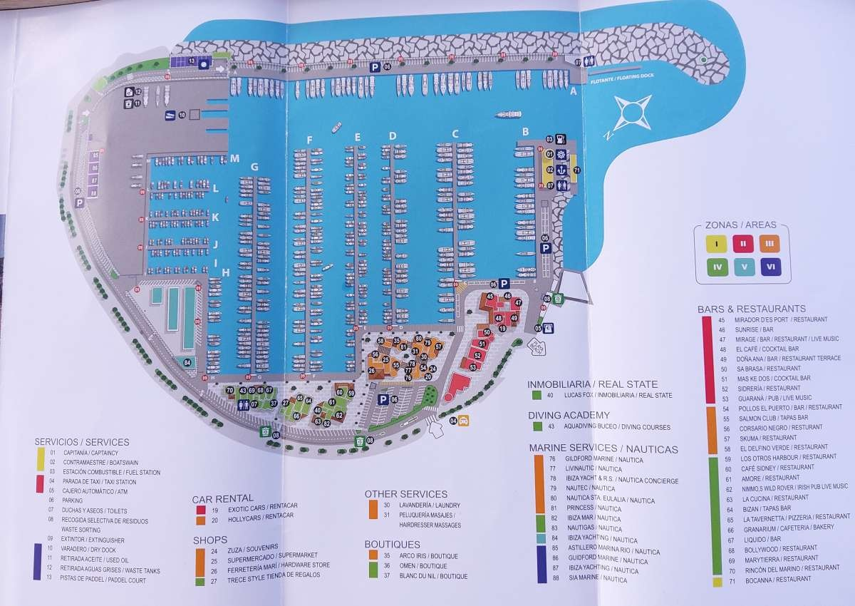 Santa Eulalia - Hafen bei Santa Eulària des Riu