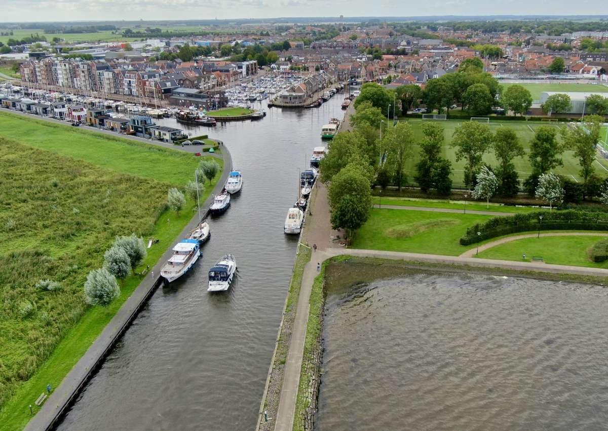 Oude Haven - Hafen bei Bunschoten (Bunschoten-Spakenburg)