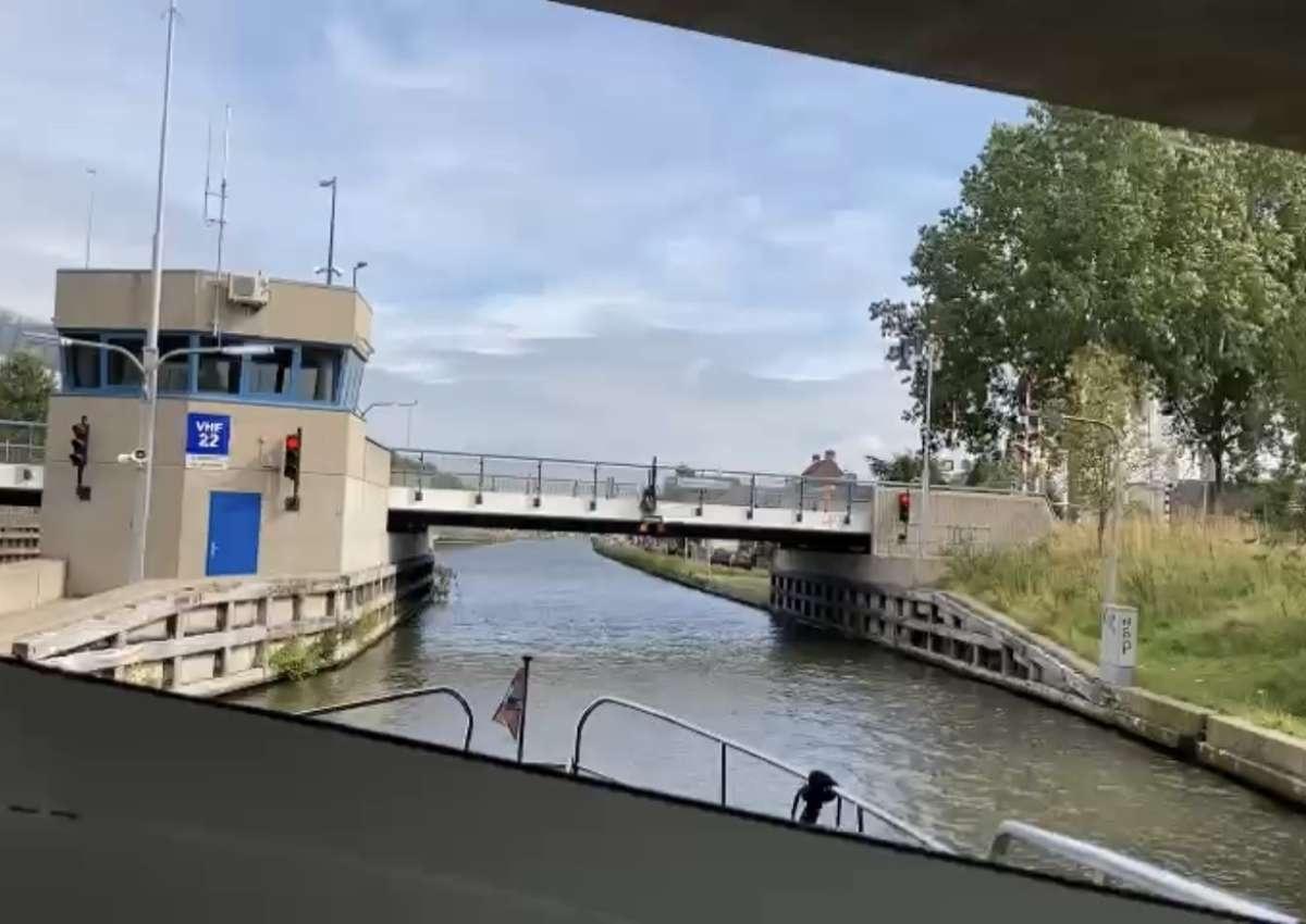 Duivendrechtsebrug - Brücke bei Amsterdam (Duivendrecht)