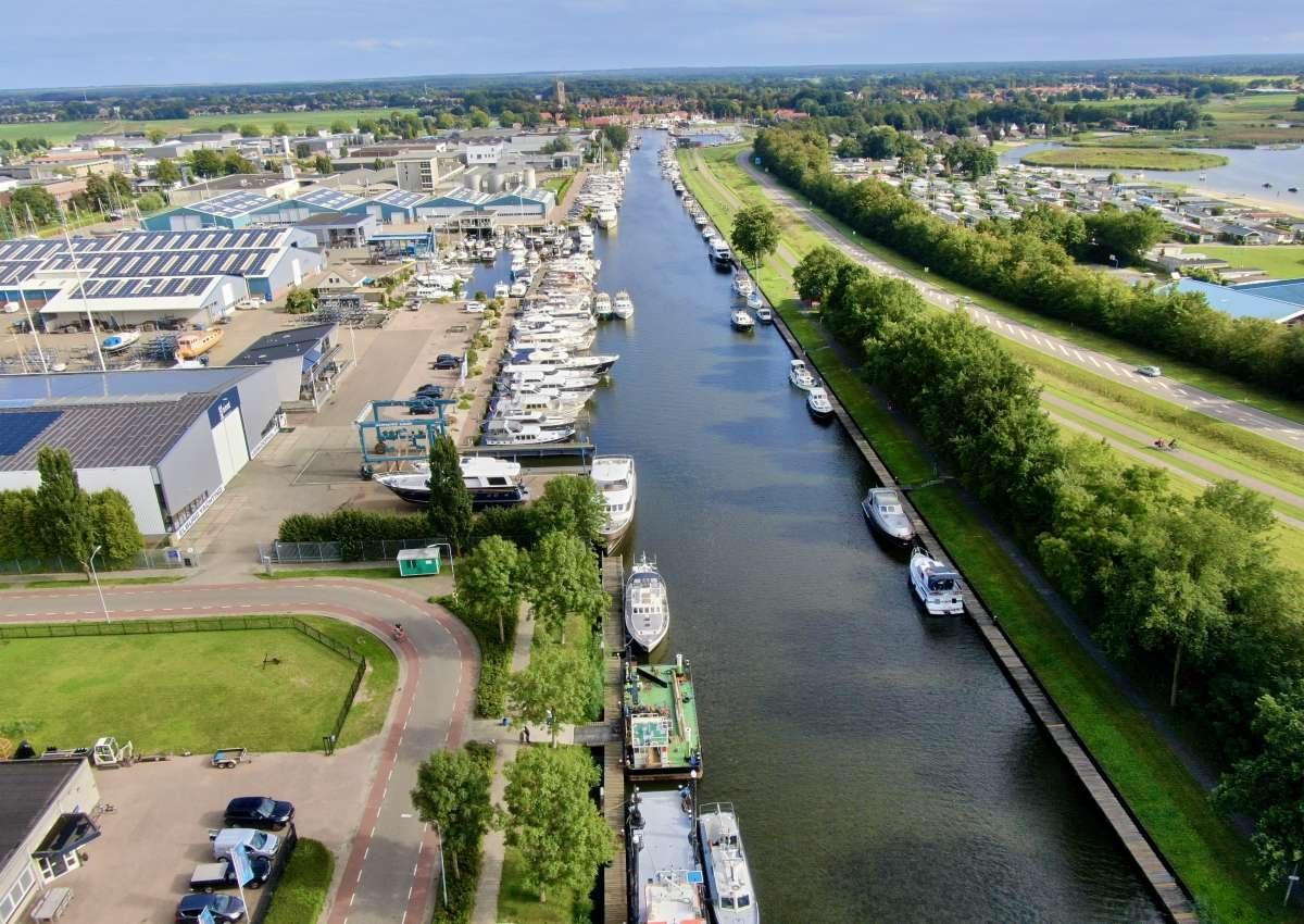 Havenkantoor Elburg - Hafen bei Elburg