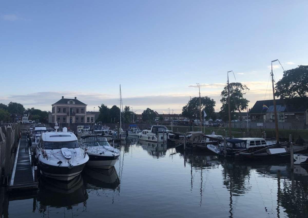 W.s.v. de Buitenhaven - Hafen bei Kampen