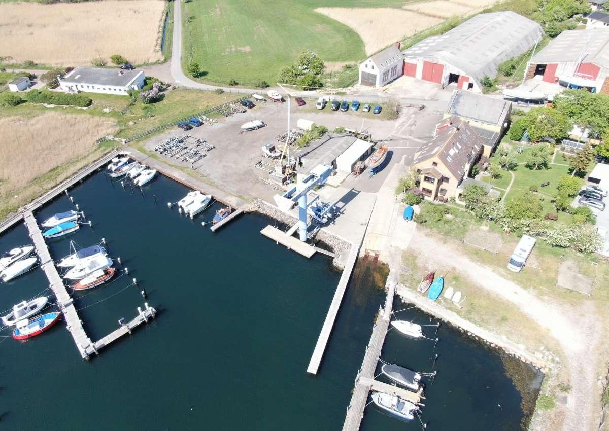 Schaich Werft - Hafen bei Fehmarnsund