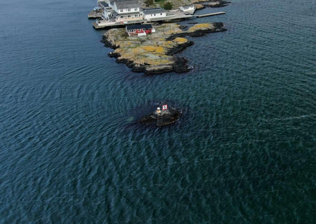 Kalven harbour - Hafen bei Björkö