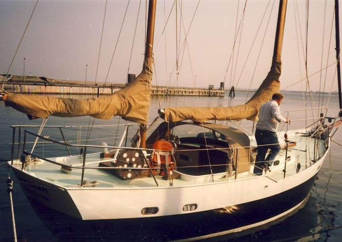 Albuen - Anchor near Langø
