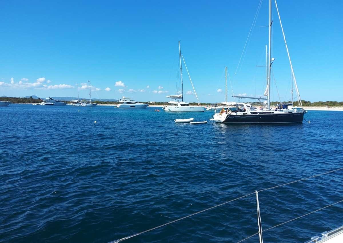 Isla Espalmador - Ankerplatz bei Formentera