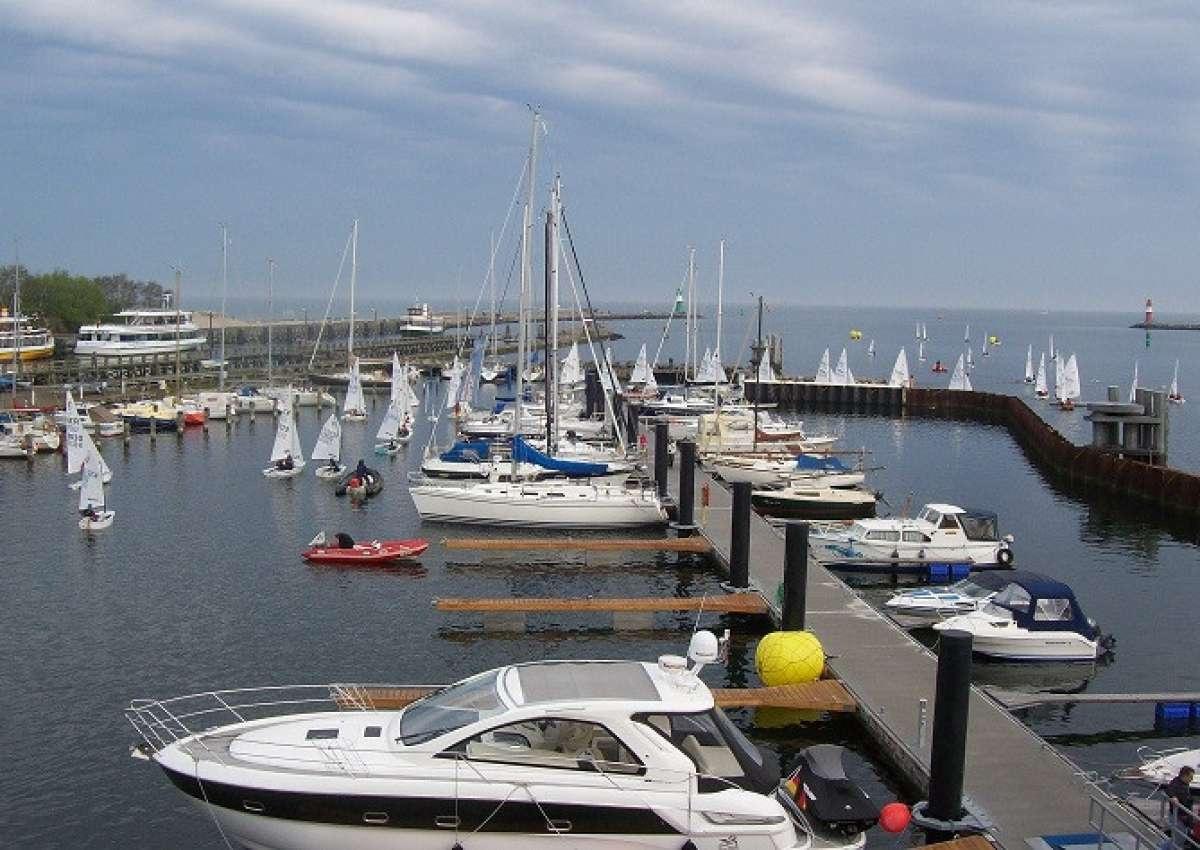 Warnemünde Yachthafen/Neuer Strom - Hafen bei Rostock (Warnemünde)