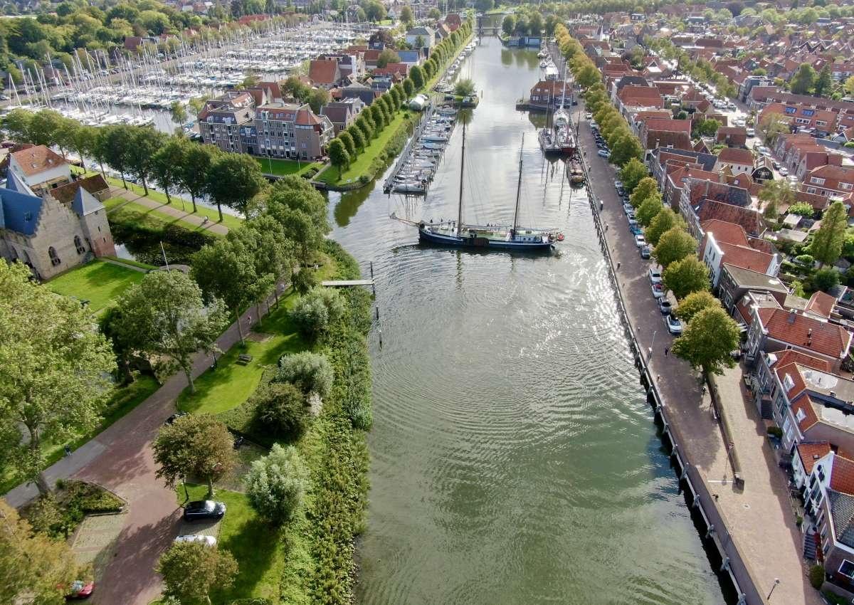 Oosterhaven, Middenhaven Medemblik - Hafen bei Medemblik