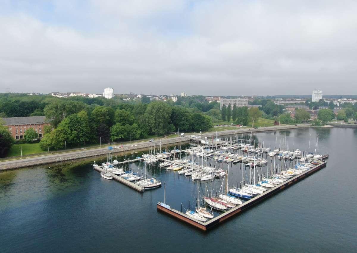 Kiel-Wik - Marina près de Kiel (Wik)
