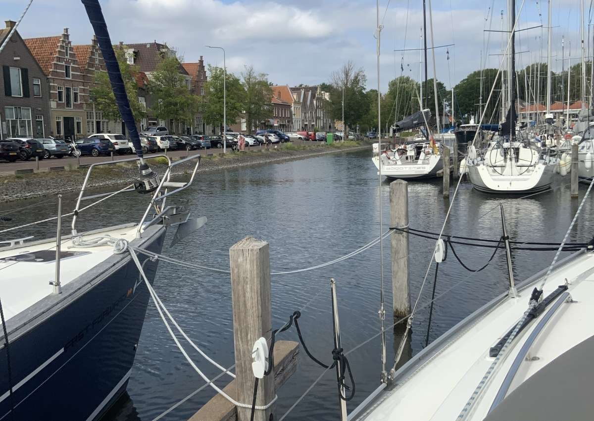Stadshavens Medemblik - Hafen bei Medemblik