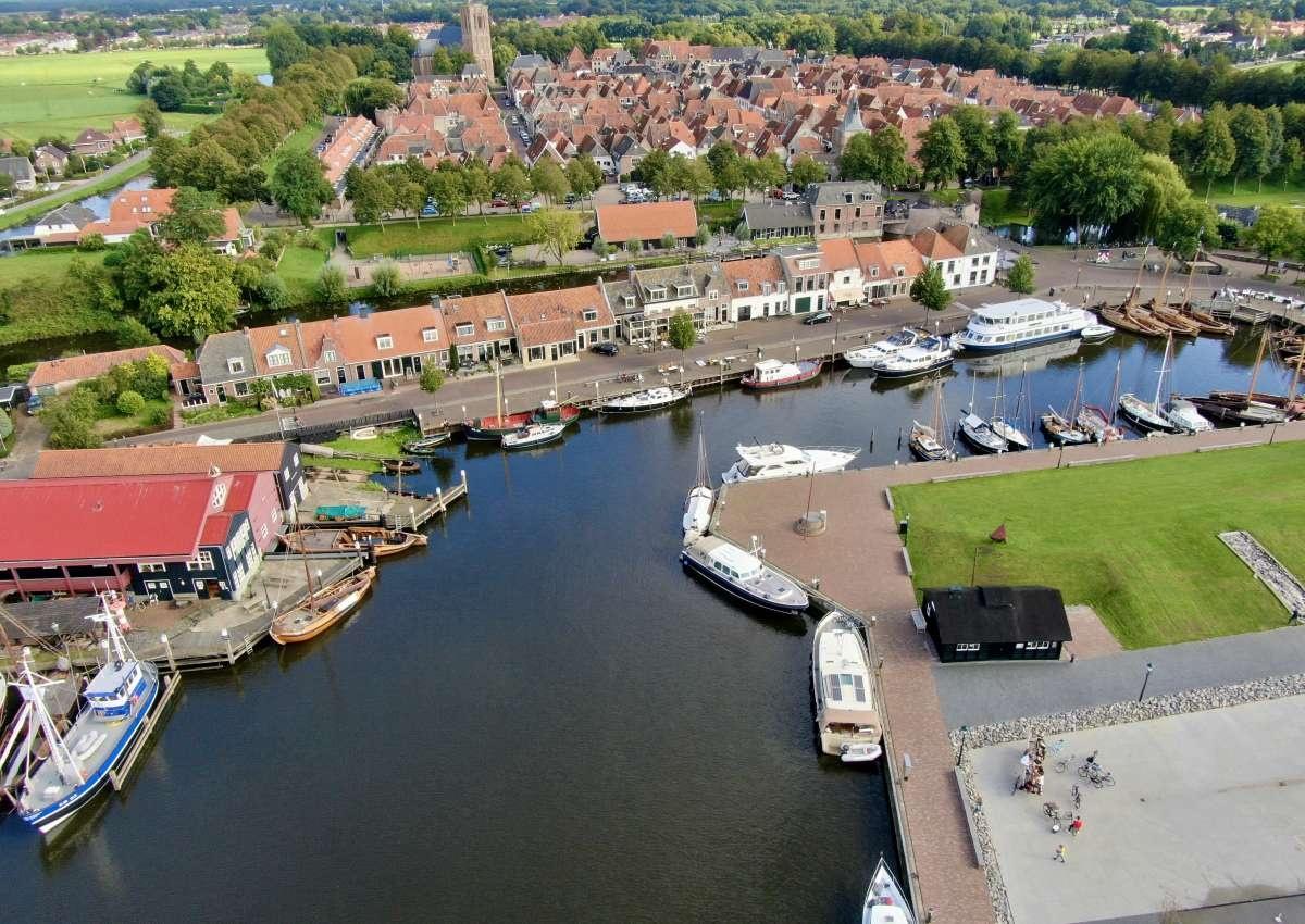 Binnenhaven Elburg - Hafen bei Elburg