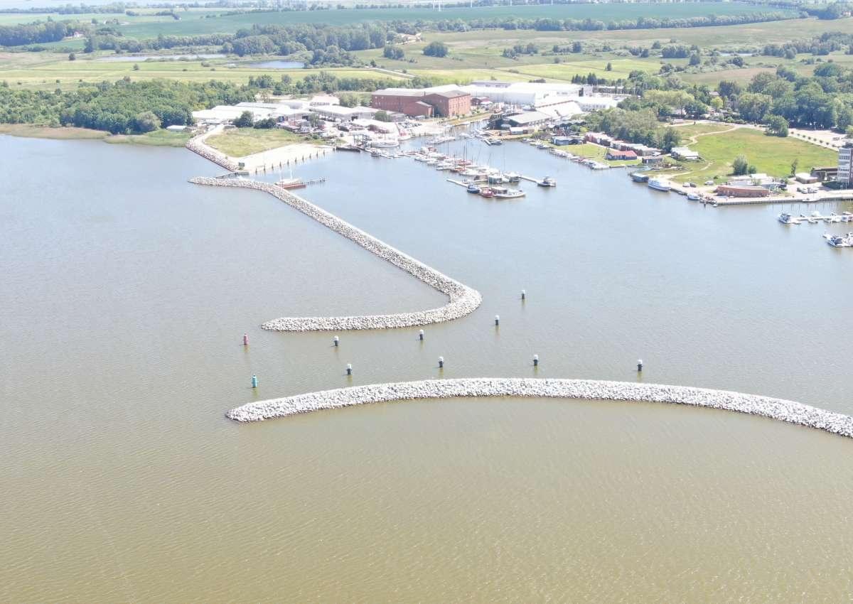 Barth Werft Rammin - Hafen bei Barth