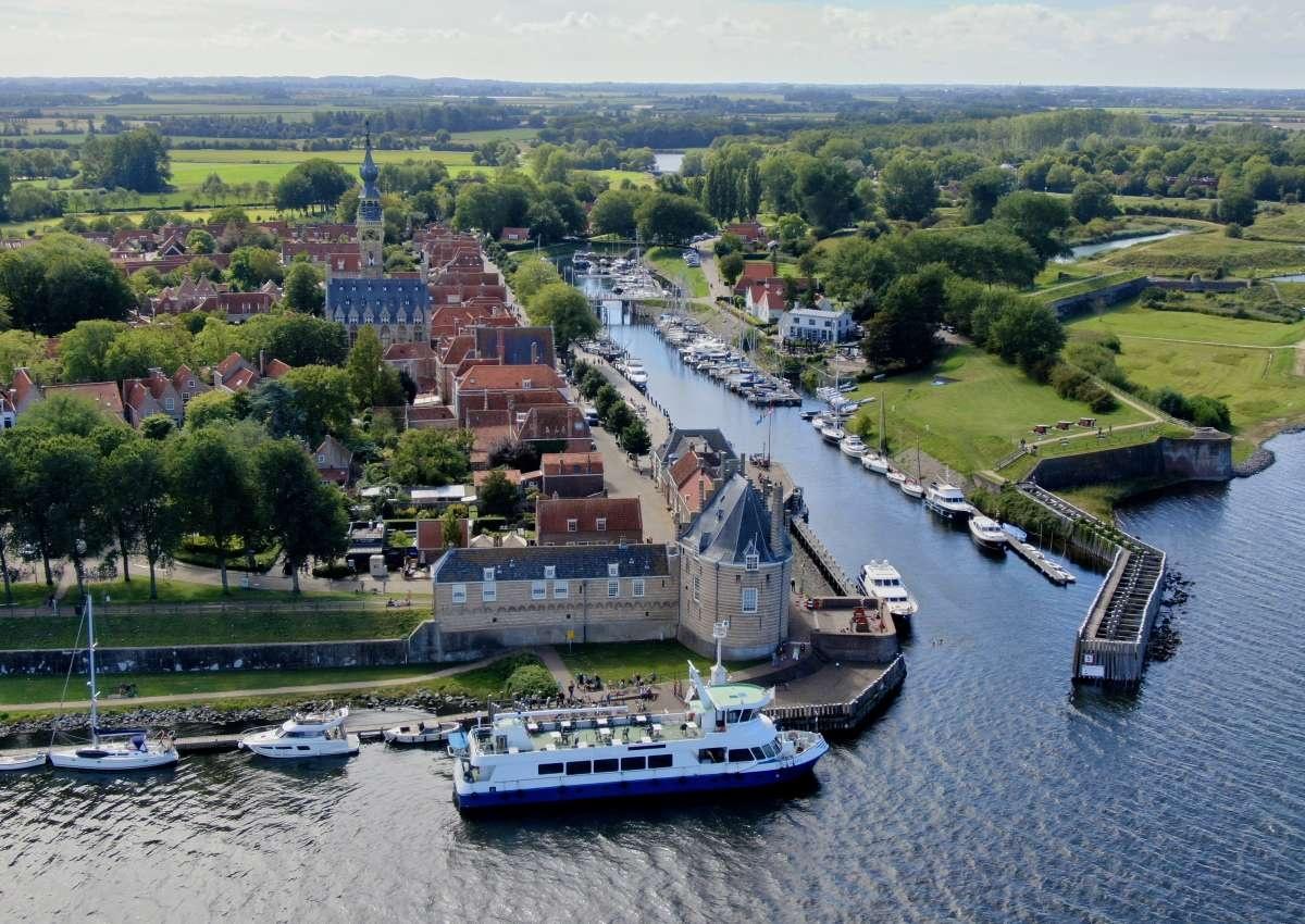 Jachtclub Veere - Hafen bei Veere