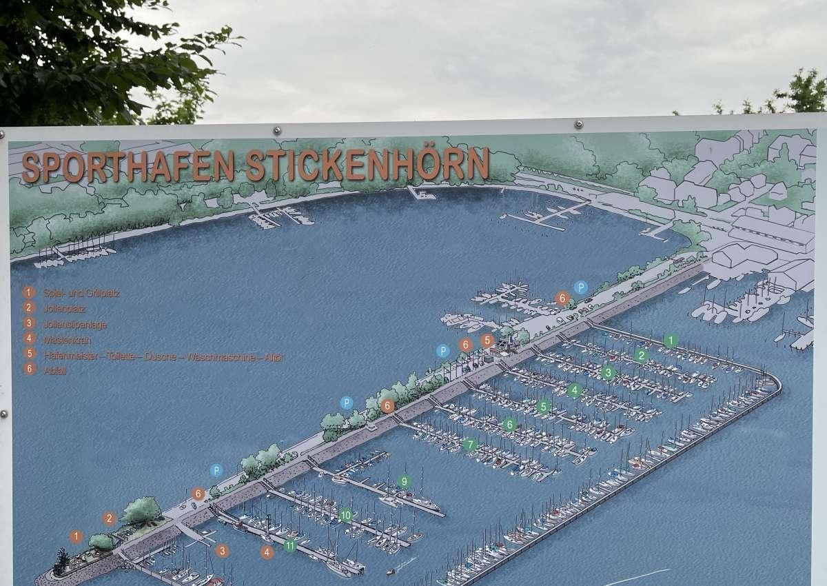 Stickenhörn - Hafen bei Kiel (Pries)