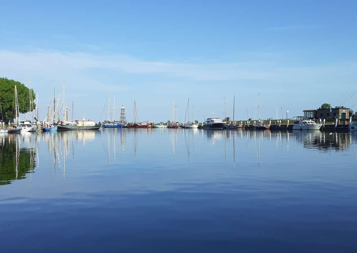 Buitenhaven, Oude Haven, Oosterhaven - Hafen bei Enkhuizen