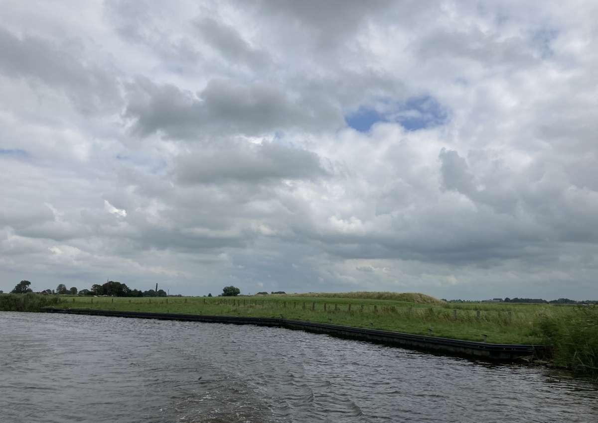 Damwand Gratis Steg - Anchor près de Noardeast-Fryslân (Oostrum)