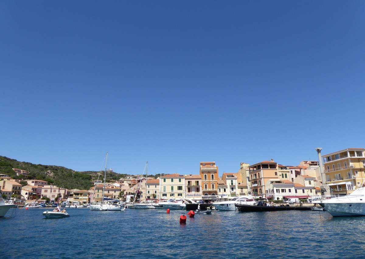 Cala Gavetta - Hafen bei La Maddalena