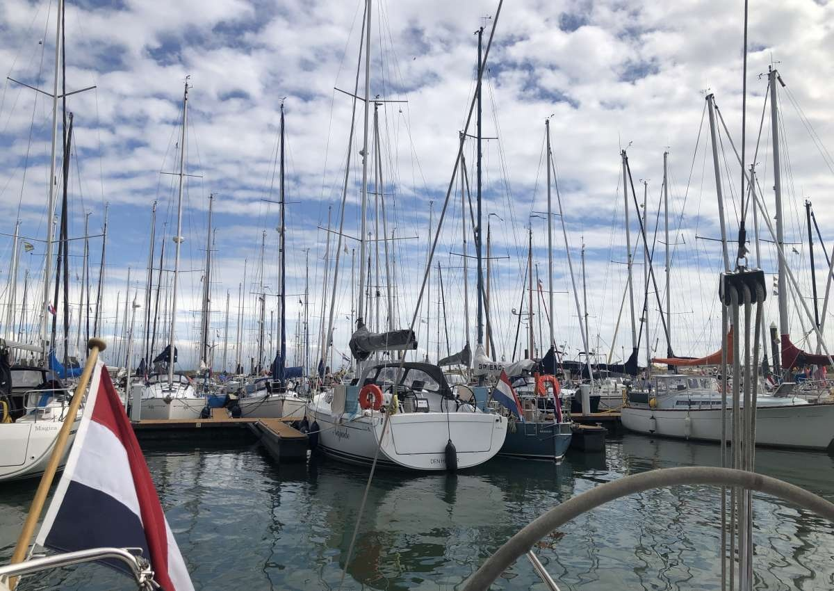 Vlieland - Hafen bei Vlieland