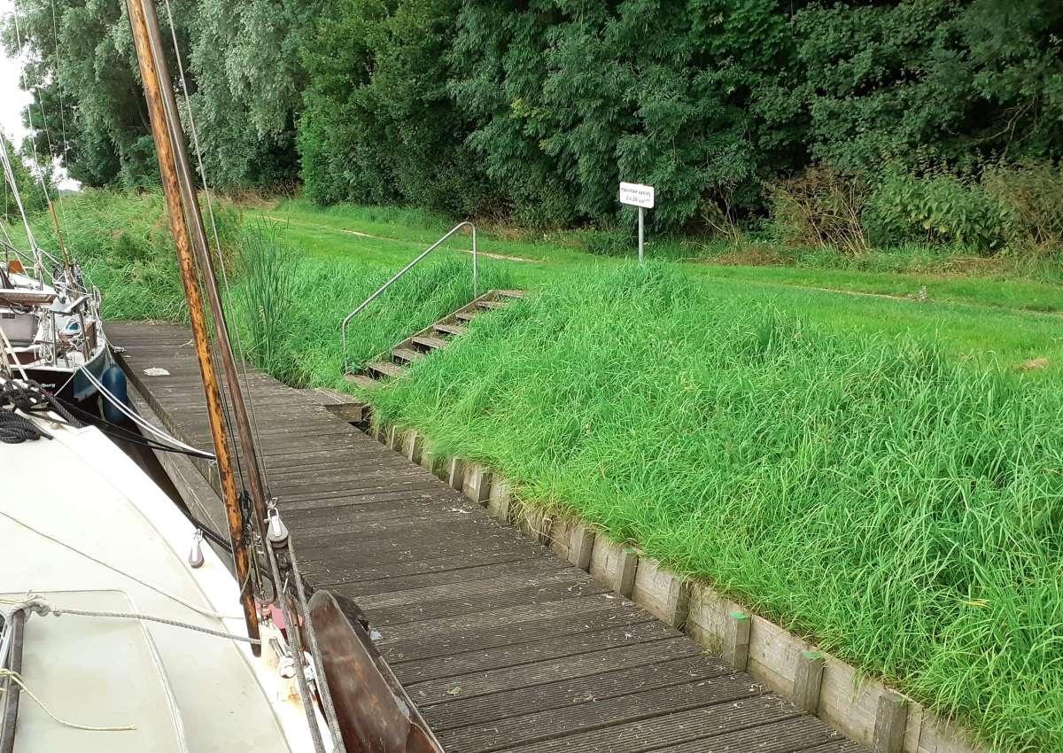 Schouwerzijl - Anchor near Het Hogeland (Schouwerzijl)