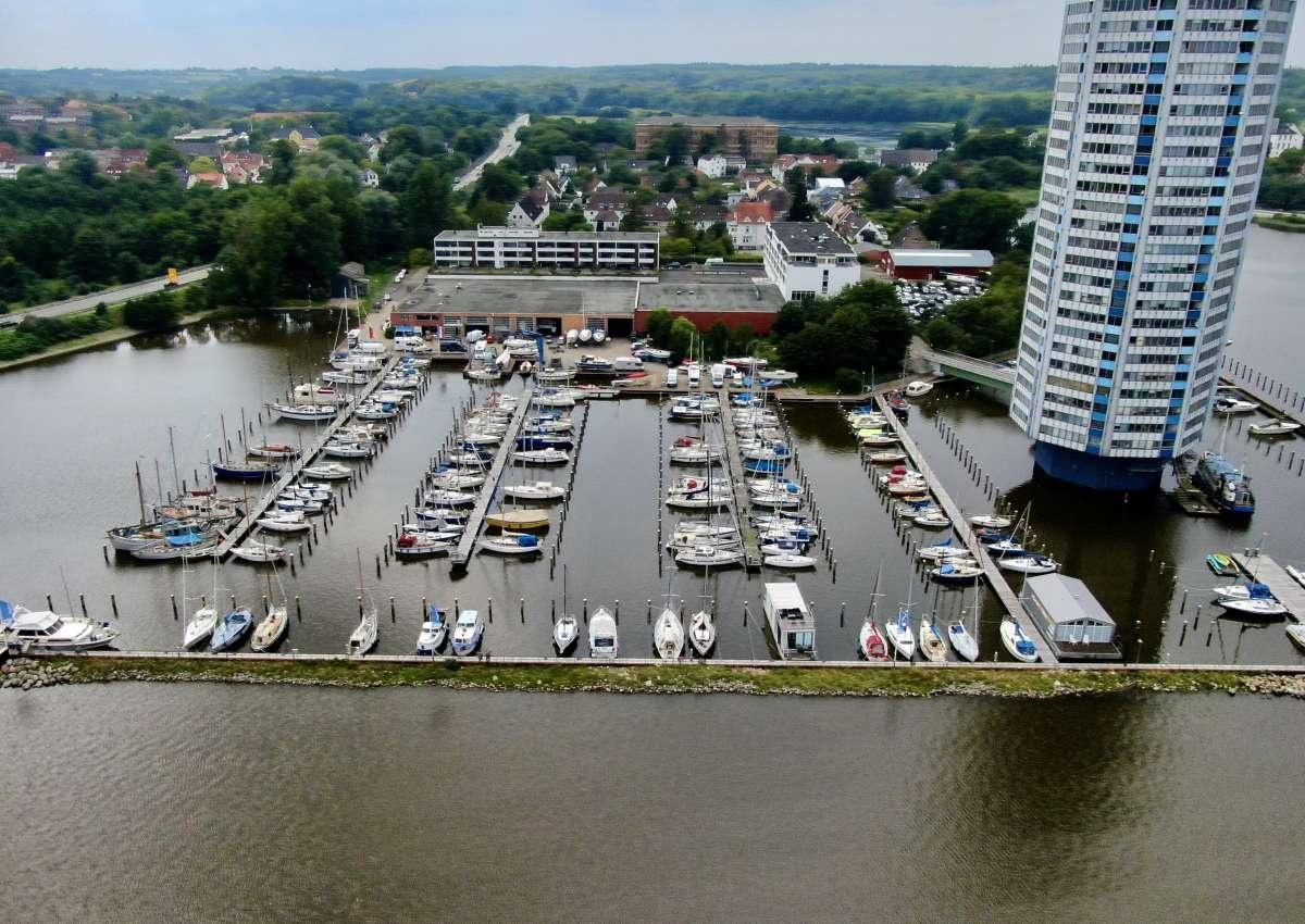 Wiking Yachthafen - Hafen bei Schleswig (Lollfuß)