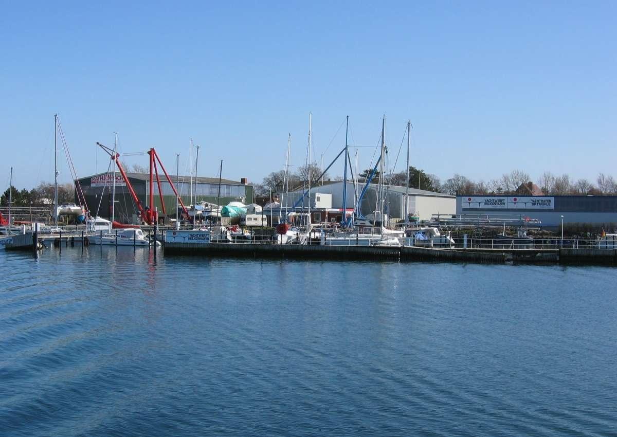 Yachtwerft Heiligenhafen - Hafen bei Heiligenhafen