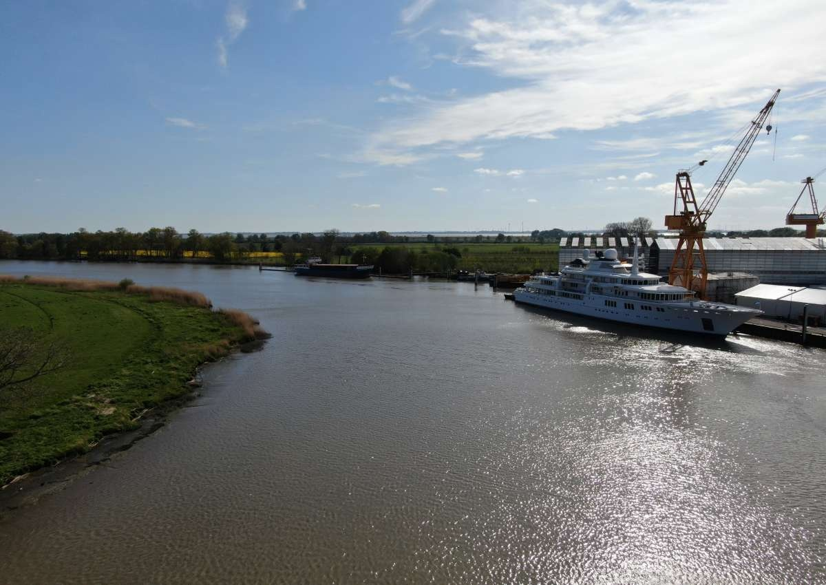 Wewelsfleth - Hafen bei Wewelsfleth