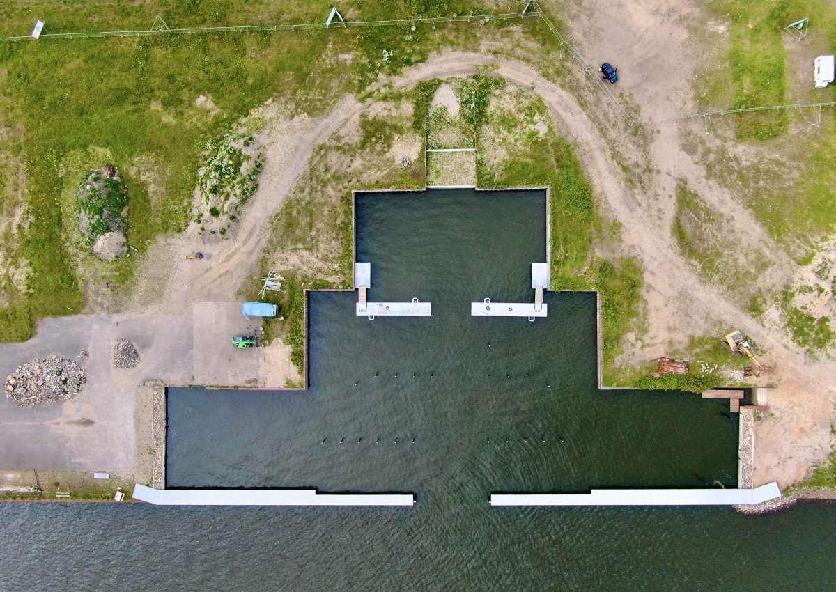 Pionierhafen Schleswig auf der Freiheit  - Hafen bei Schleswig (Freiheit)