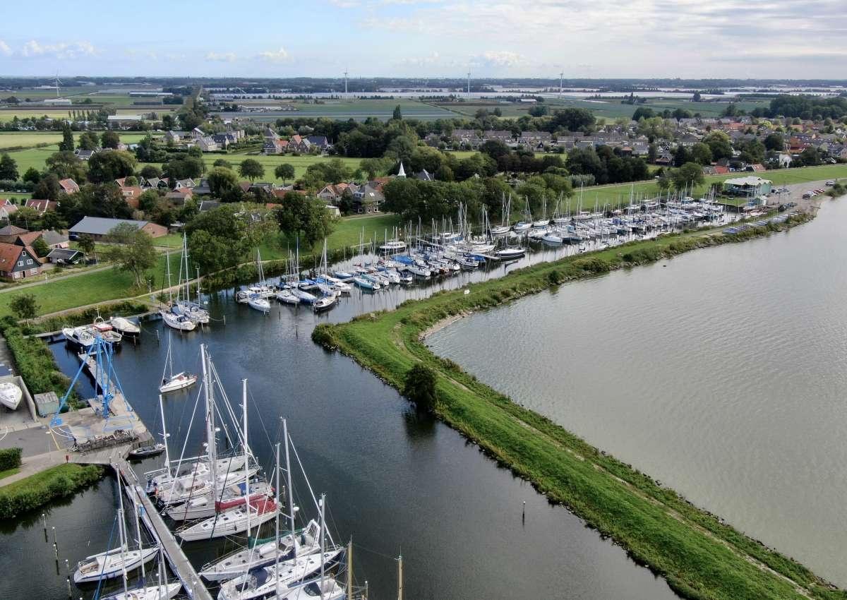 WSV De Kreupel - Hafen bei Medemblik (Andijk)