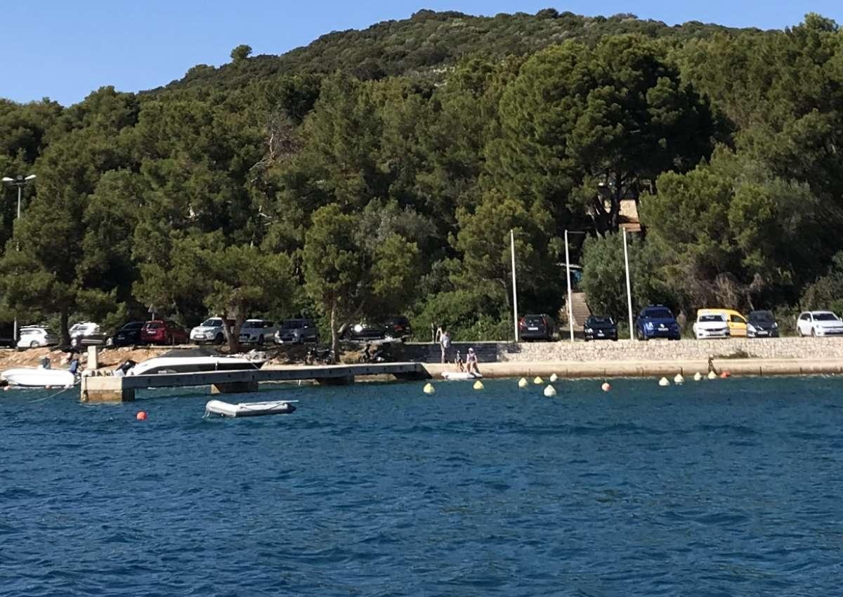 Campingplatz Rt. Poljana - Hafen bei Mali Lošinj