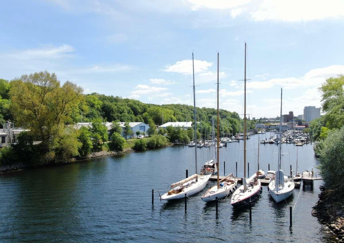 Industriehafen Wassersportclub Flensburg e. V. - Marina near Flensburg (Blasberg)