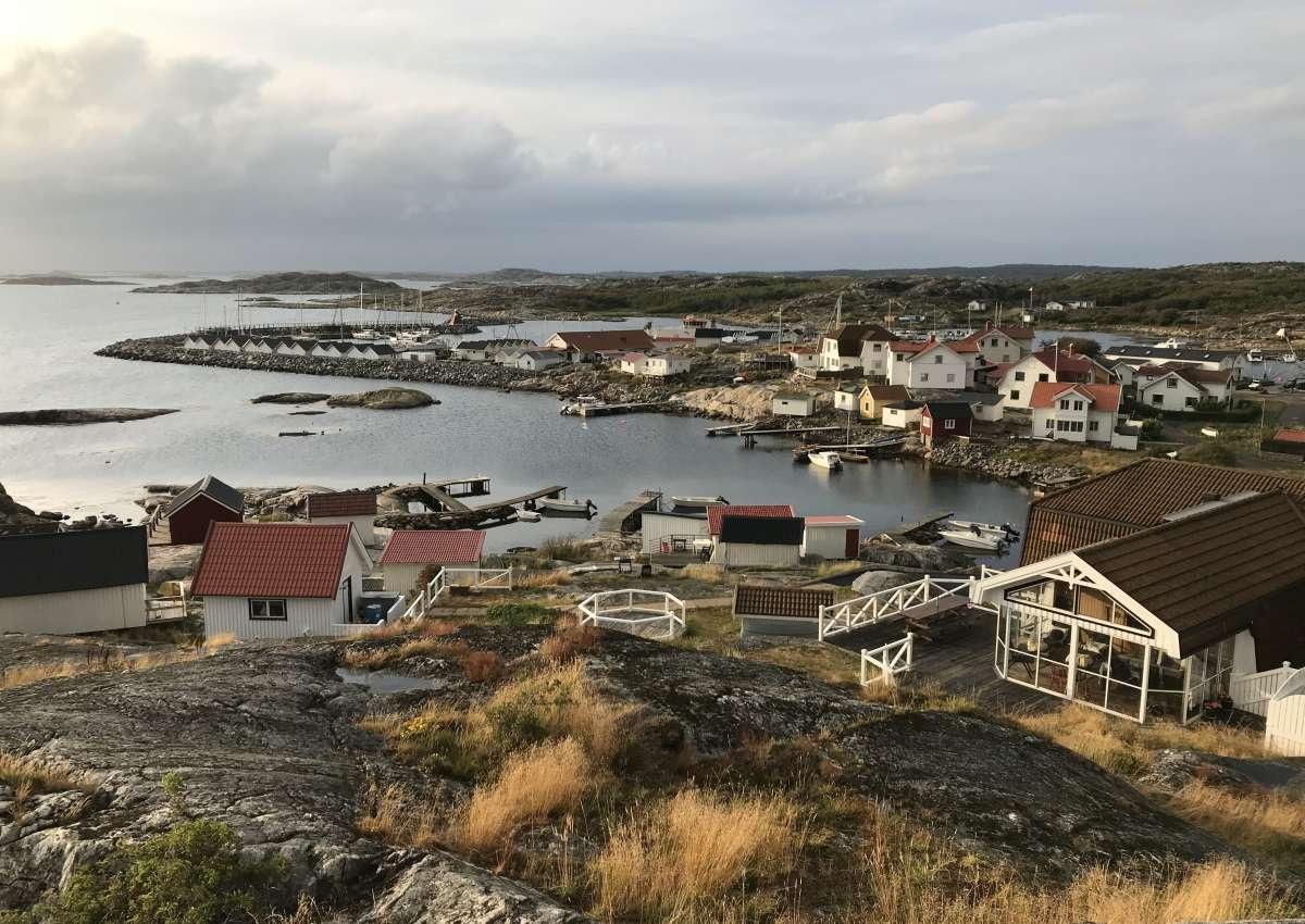 Vrångö - Hafen bei Vrångö (Södra Skärgården)