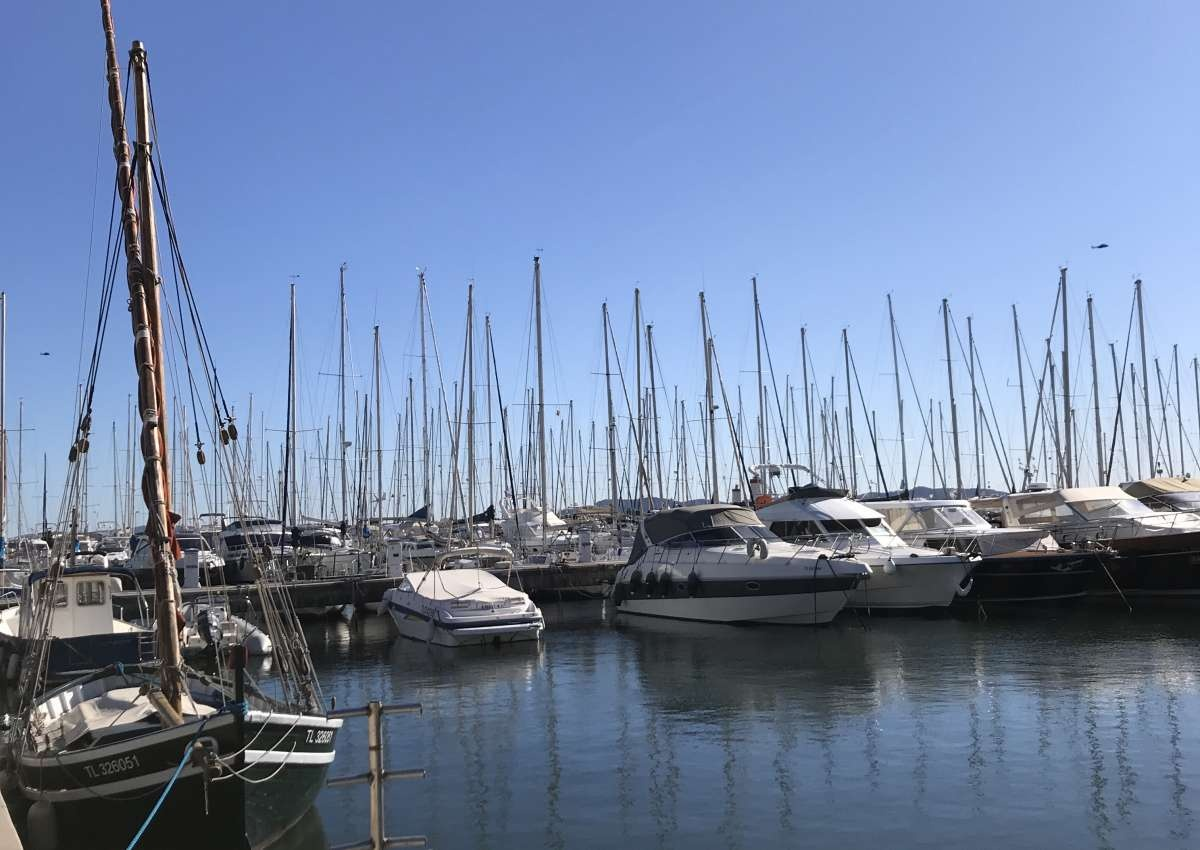 Port de Hyères - Hafen bei Hyères