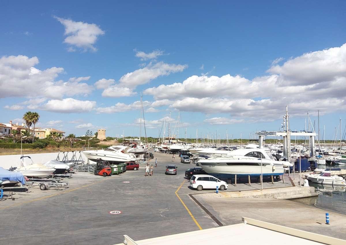 La Rápita - Hafen bei Campos (sa Ràpita)