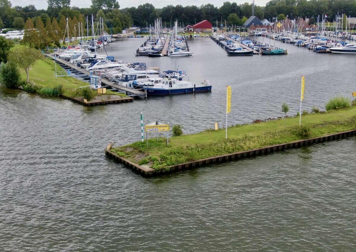 WSV Nulde - Hafen bei Putten