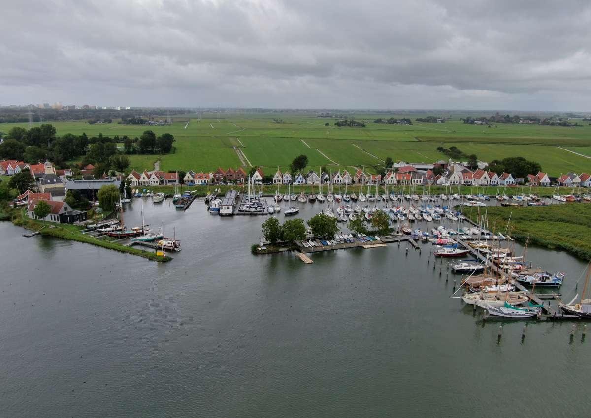 wsv durgerdam - Hafen bei Amsterdam