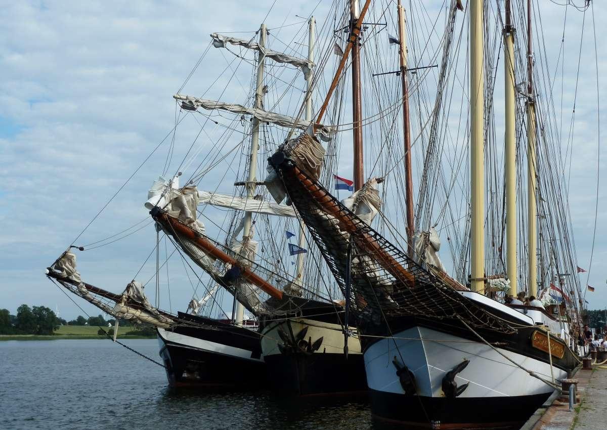 Kappeln Gastliegerhafen - Hafen bei Kappeln