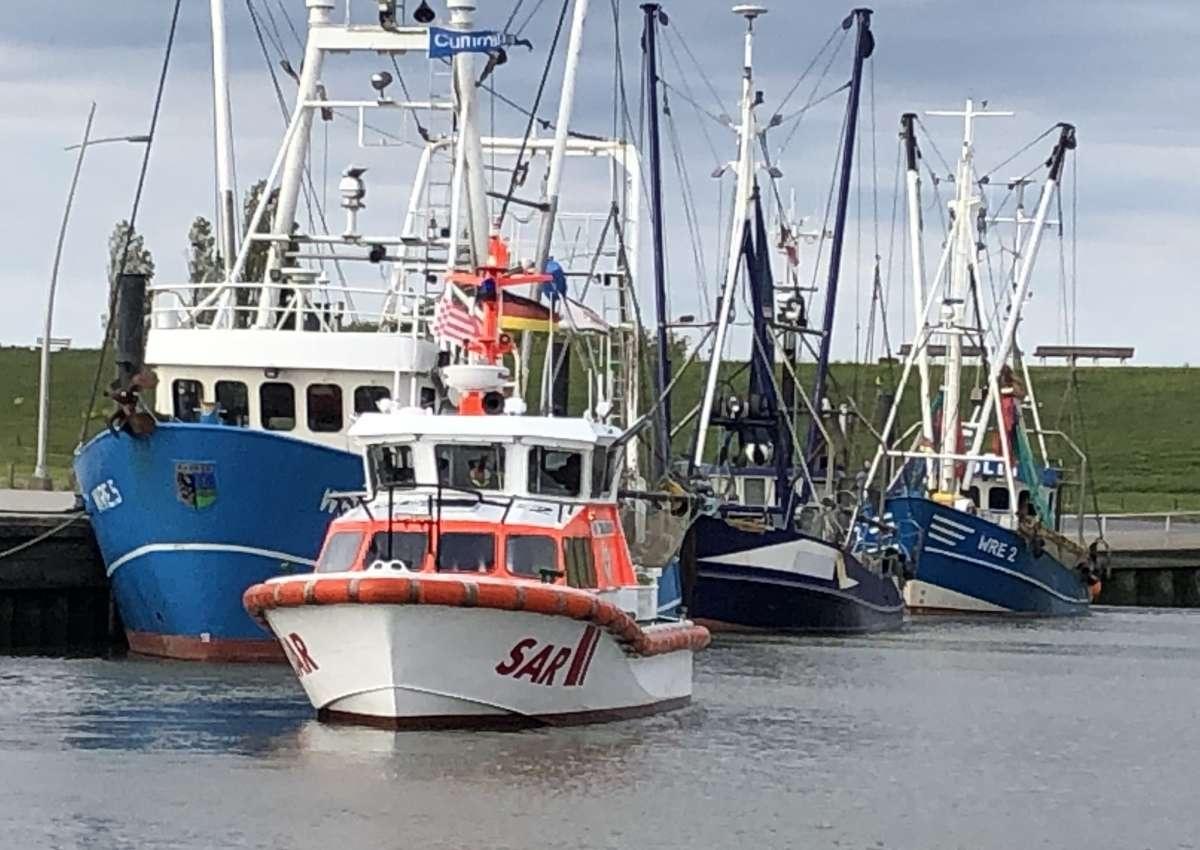 Hafen Wremen - Marina near Wurster Nordseeküste