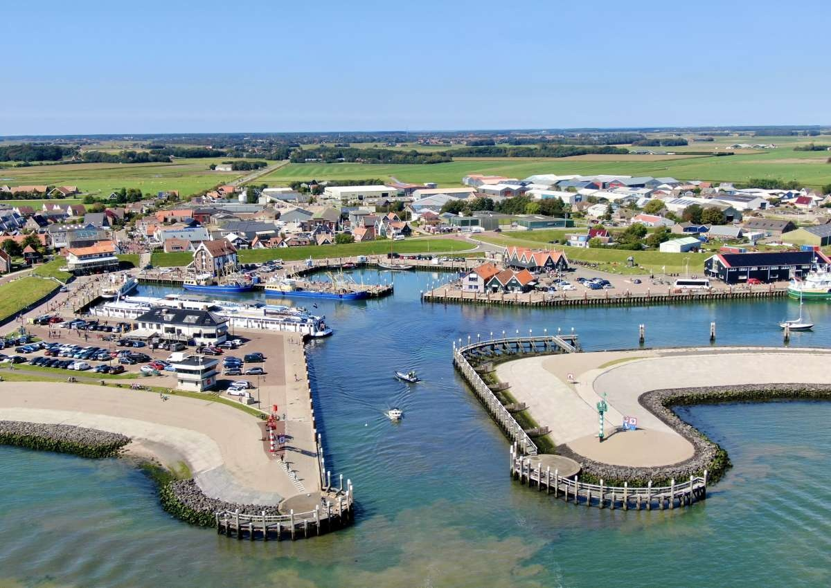 Texel - Hafen bei Texel (Oudeschild)